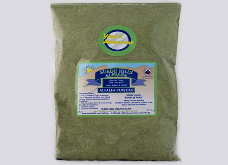 Alfalfa Powder 227g (1/2 lbs)