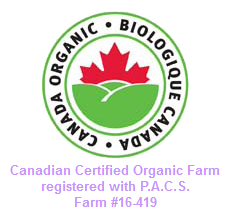 canadian certified organic farm