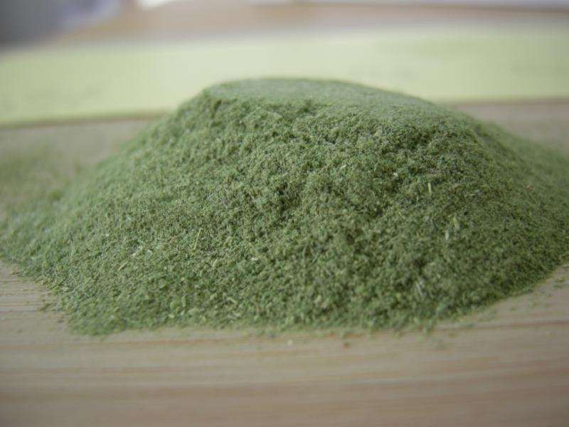 Pure Organic Alfalfa Leaf Powder